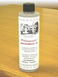 Williamsville Butcherblock Oil