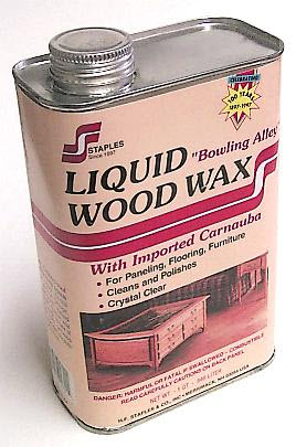 Clear Liquid Wood Wax