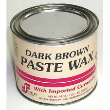 Paste Wax Dark Brown