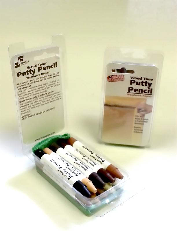 Putty Pencil – Assorted Wood Shade - HF Staples
